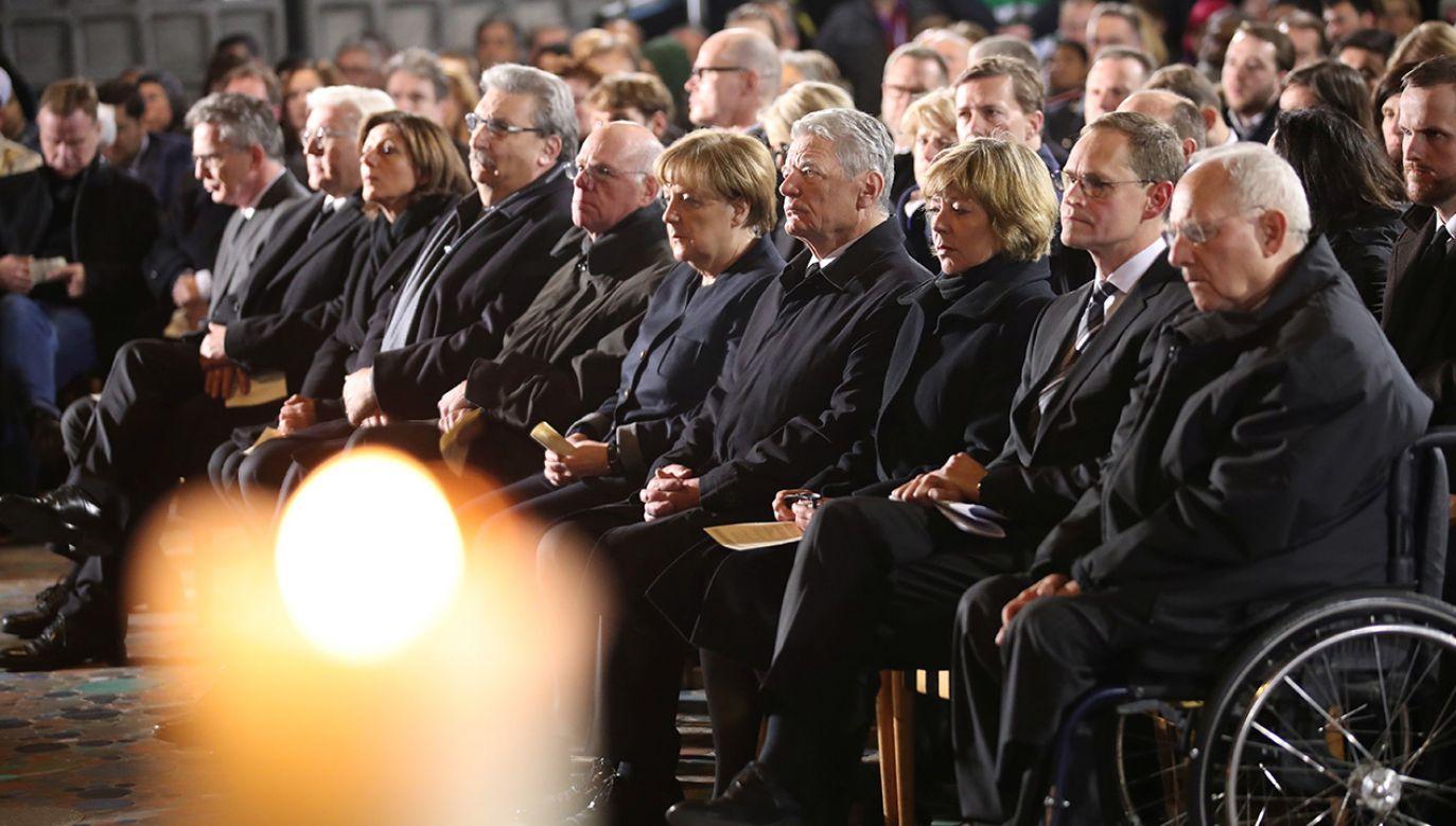 (fot. REUTERS/Michael Kappeler/Pool)