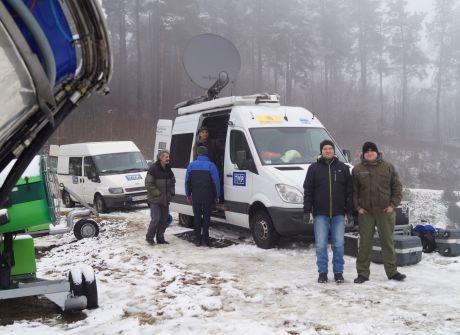 Zima w regionach - stok narciarski Laworta