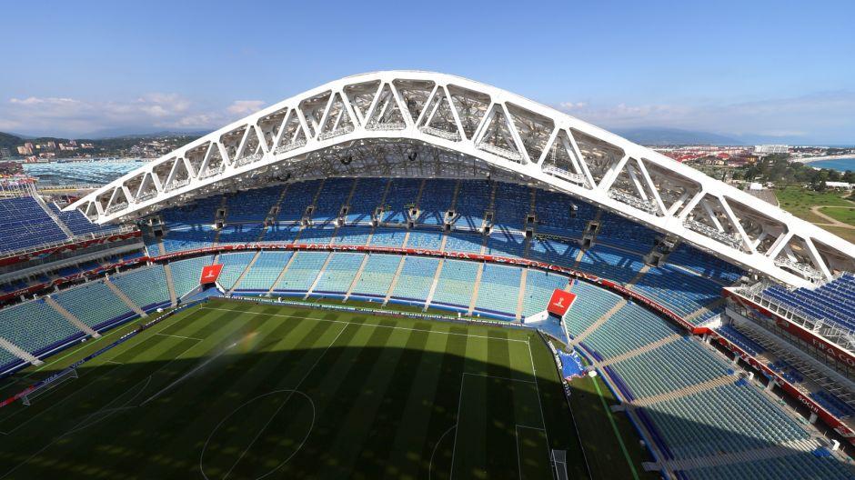 Stadion Olimpijski Fiszt (Soczi). Pojemność 47 700. Rok otwarcia: 2013 (fot. Getty)