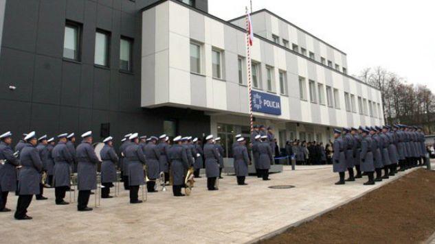 Budowa komendy w Rykach kosztowała pół miliona (fot.lubelska.policja.gov.pl)