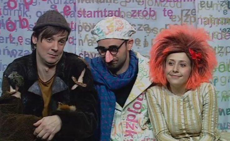 Kadr spektaklu w reżyserii Jerzego Moszkowicza