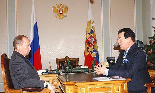 Spotkanie z prezydentem Władimirem Putinem. Fot. Wikimedia/kremlin.ru