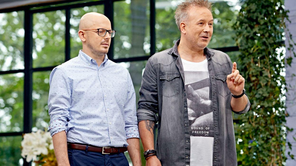 Michał Bryś przygotował dla uczestników nie lada wyzwanie (fot. TVP)