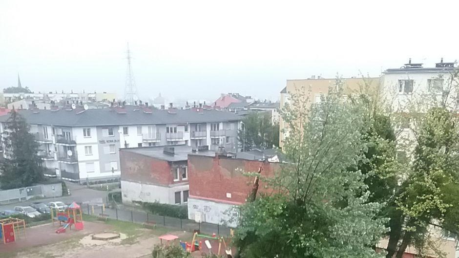 Nawałnica w Bydgoszczy (fot.Twoje Info/Robert)