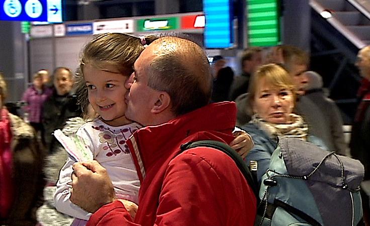 Polacy wracają zza granicy na święta