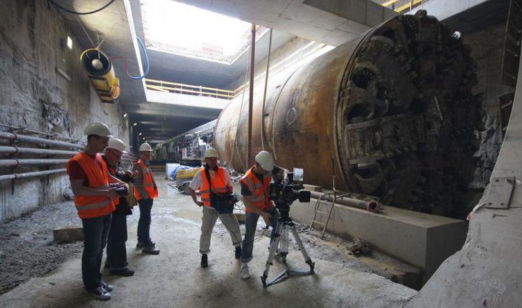 Budowa warszawskiego metra
