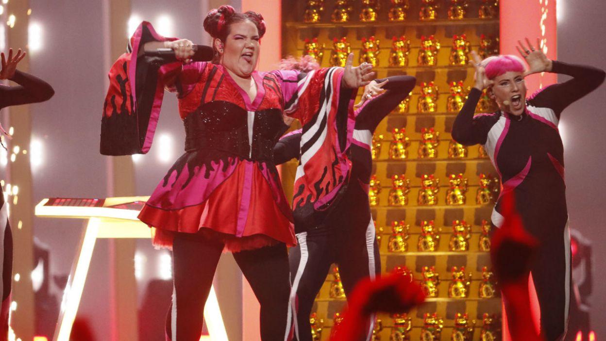 """Netta z Izraela zaprezentowała utwór """"Toy"""". To bez wątpienia jeden z najbardziej charakterystycznych występów (fot. Andreas Putting/rurovision.tv)"""