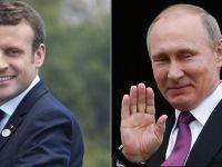 Macron i Putin pierwszy raz oko w oko. Spotkanie... 300 lat po wizycie cara w Paryżu
