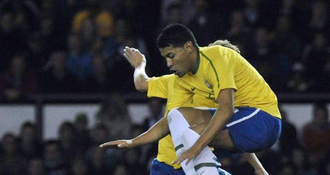 Brazylijczycy byli od Ukraińców bardziej efektywni i ... efektowni (fot. PAP/EPA)