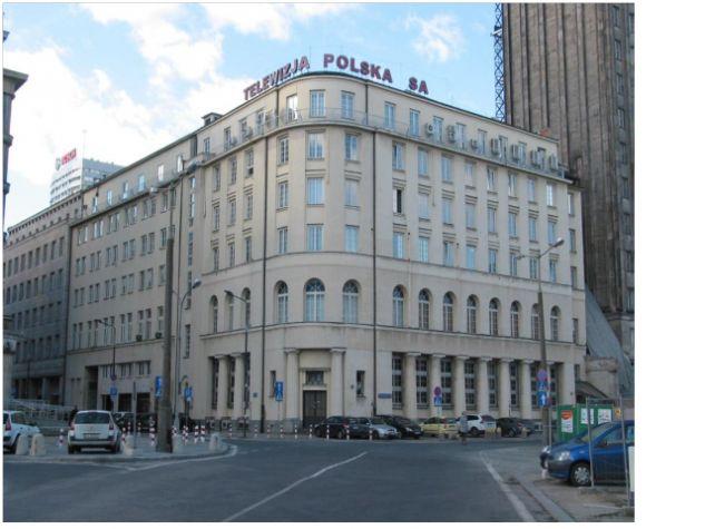 Lokal gastronomiczny TVP w Warszawie przy ul. Moniuszki 2/2A