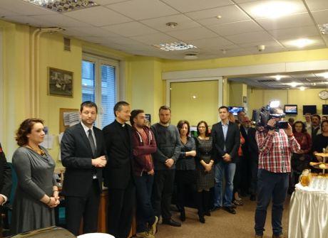 Spotkanie wigilijne w TVP Warszawa