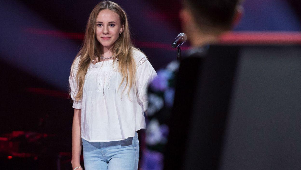 Cleo, która podczas tych przesłuchań poszukiwała emocji, walczyła o Julię jak lwica (fot. J. Bogacz/TVP)