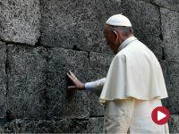 Wizyta papieża w KL Auschwitz-Birkenau