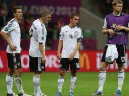 Smutek Niemców (fot.Getty Images)