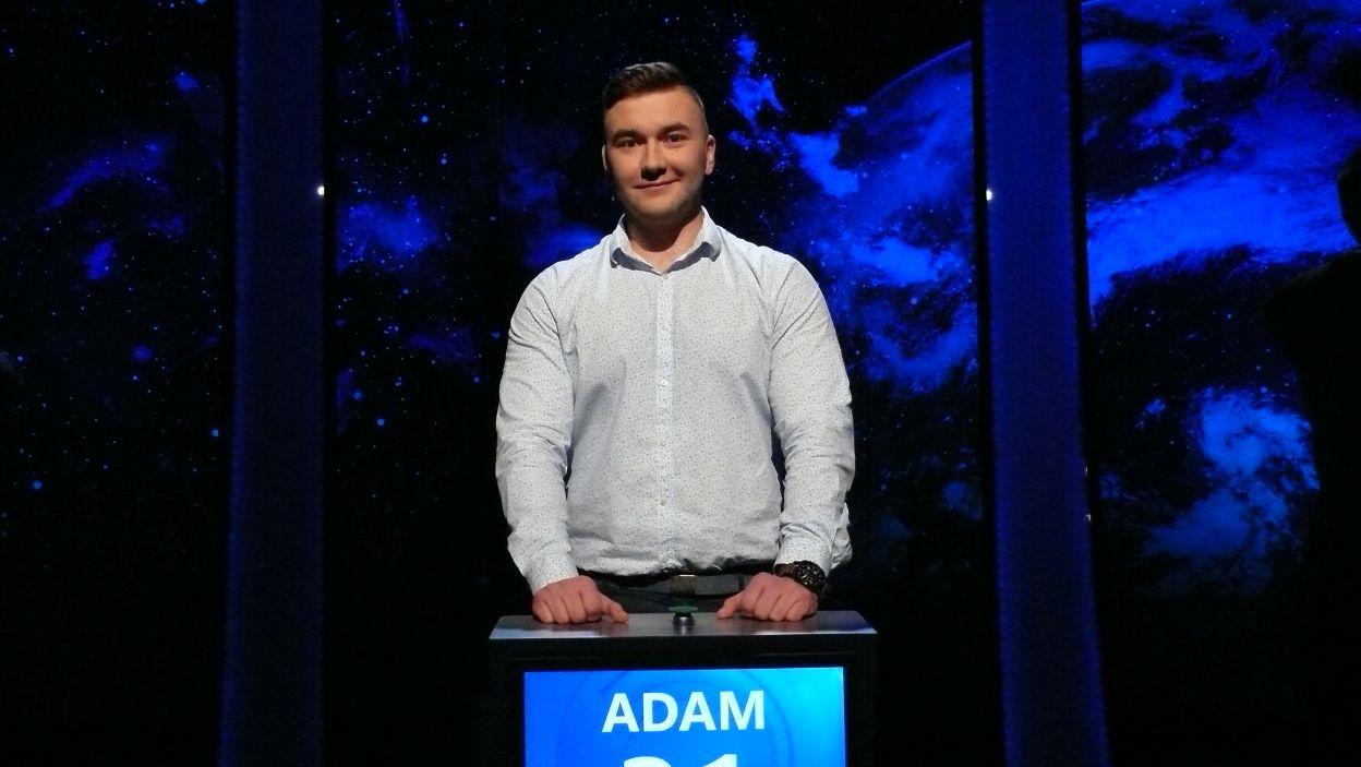 Adam Ochodzki - zwycięzca 18 odcinka 102 edycji