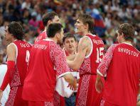 Rosjanie zdecydowanie przegrali w ostatnich dwóch kwartach (fot. Getty Images)
