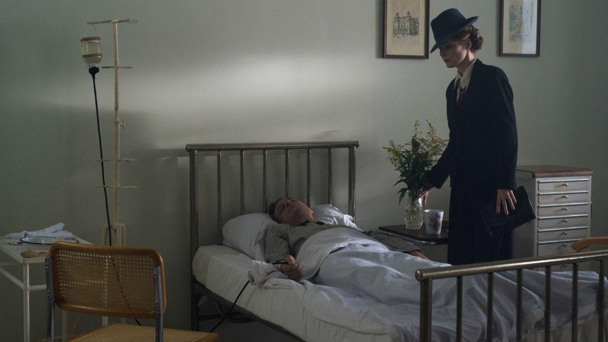 W szpitalu Margarethe oznajmia rannemu Brennerowi, że bardzo ją zawiódł. – Co poszło nie tak? – pyta… (fot. TVP)