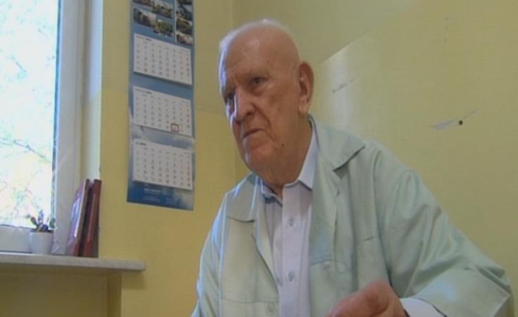 Pierwszego pacjenta przyjął 50 lat temu. Pracuje do dziś