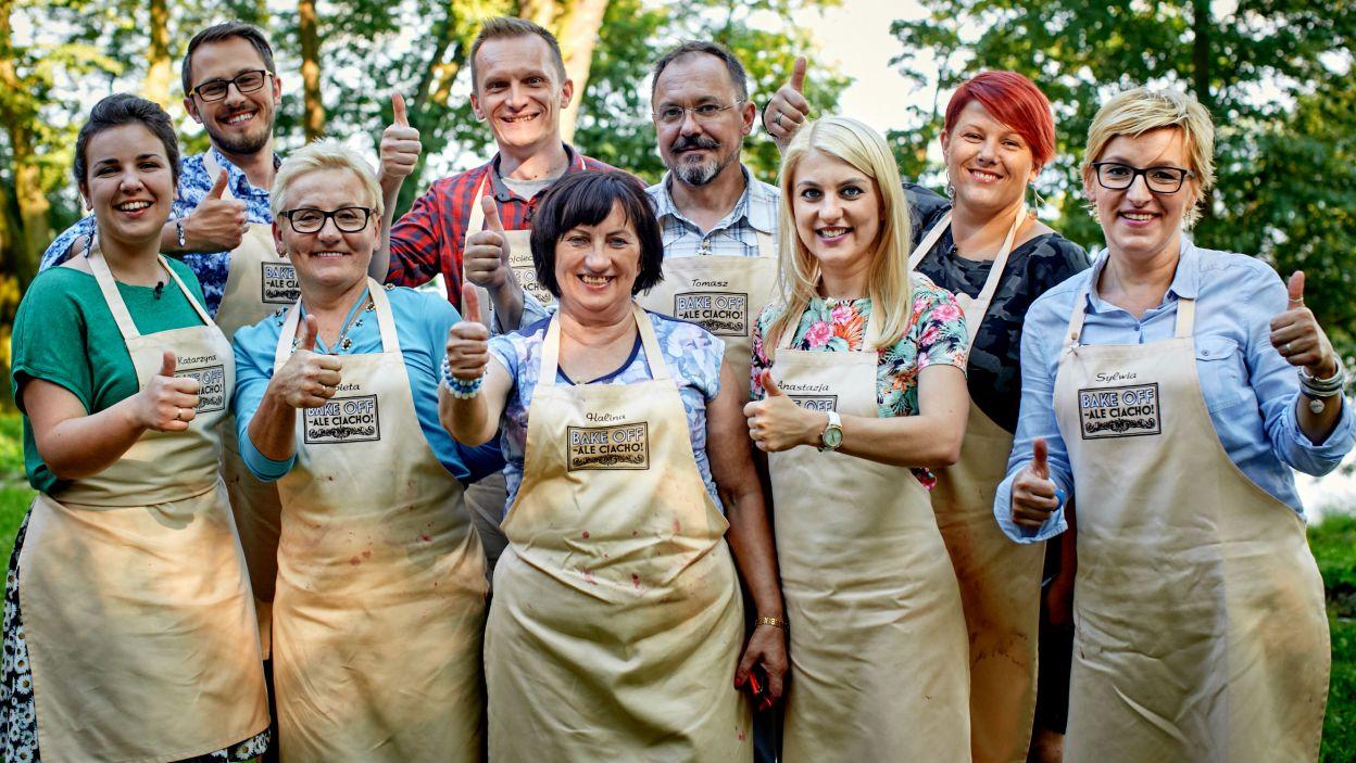 Uczestnicy bawili się w kuchni wyśmienicie (fot. TVP)