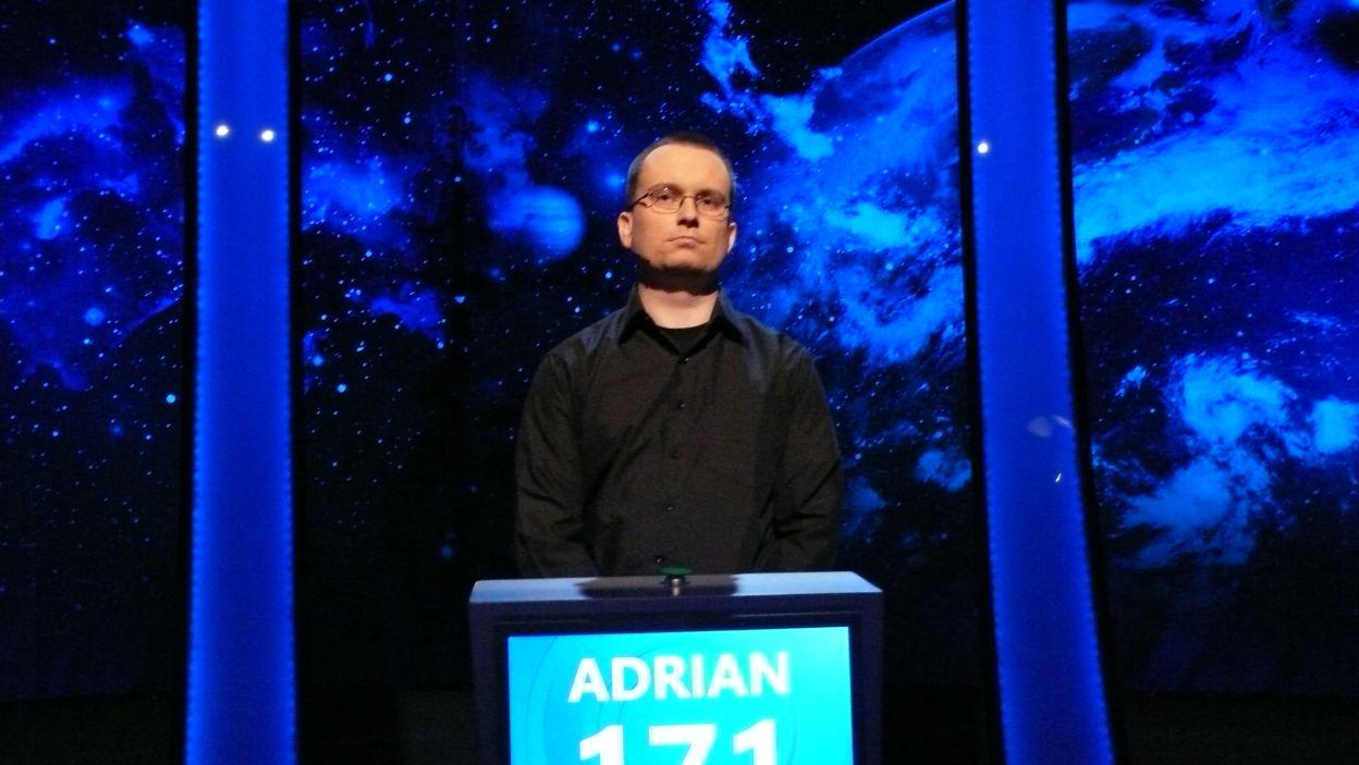 Finał 3 odcinka 109 edycji wygrał Pan Adrian Grocholski
