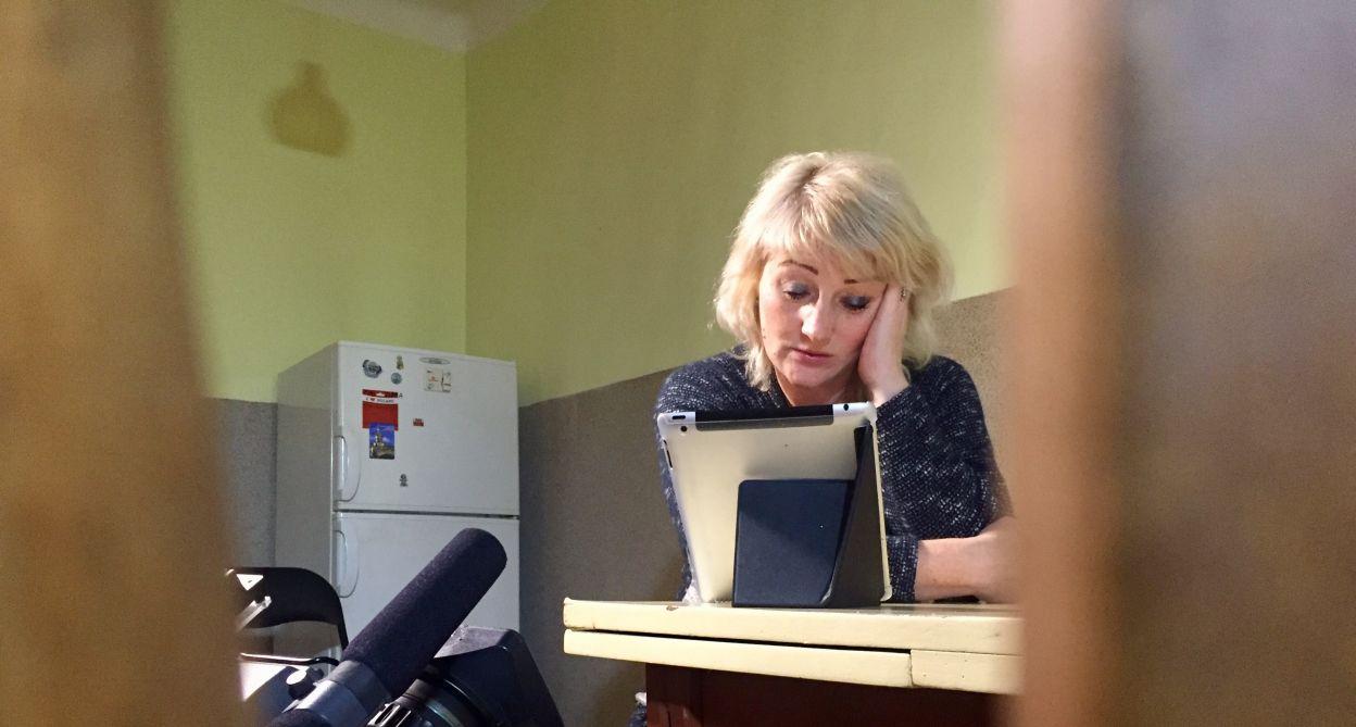 Matka Kyrylo przyjechała z Ukrainy, aby uczstniczyć w poszukiwaniach
