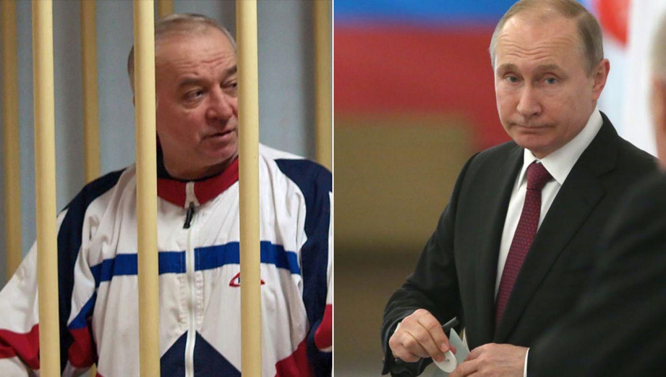 Przyjaciel Skripala (L, fot. arch. PAP/EPA/YURY SENATOROV RUSSIA) powiedział BBC, że b. agent napisał list do prezydenta Putina (fot. PAP/EPA/SERGEI CHIRIKOV)