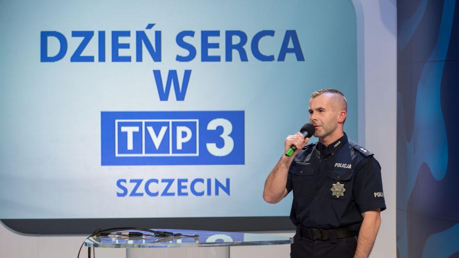Mł. asp. Michał Kurdziel - ratownik medyczny, Szkoła Policyjna w Słupsku