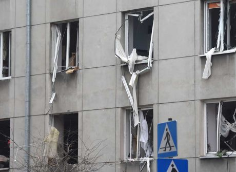 Wybuch kamienicy w Warszawie