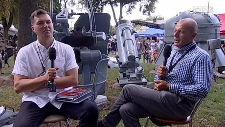 17.08.2018, Przemysław Goździejewski - NBP w Zielonej Górze, Piotr Dziedzic - Lubuskie Muzeum Wojskowe w Drzonowie