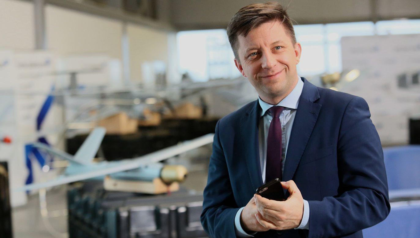 Zdaniem wiceministra obrony Michała Dworczyka Polska wejdzie w posiadanie doskonałej broni (fot. PAP/Leszek Szymański)