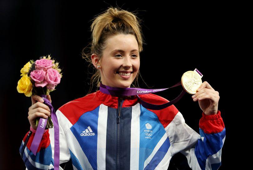Reprezentantka gospodarzy Jade Jones okazała się najlepsza w kategorii 57 kg (fot. Getty Images)