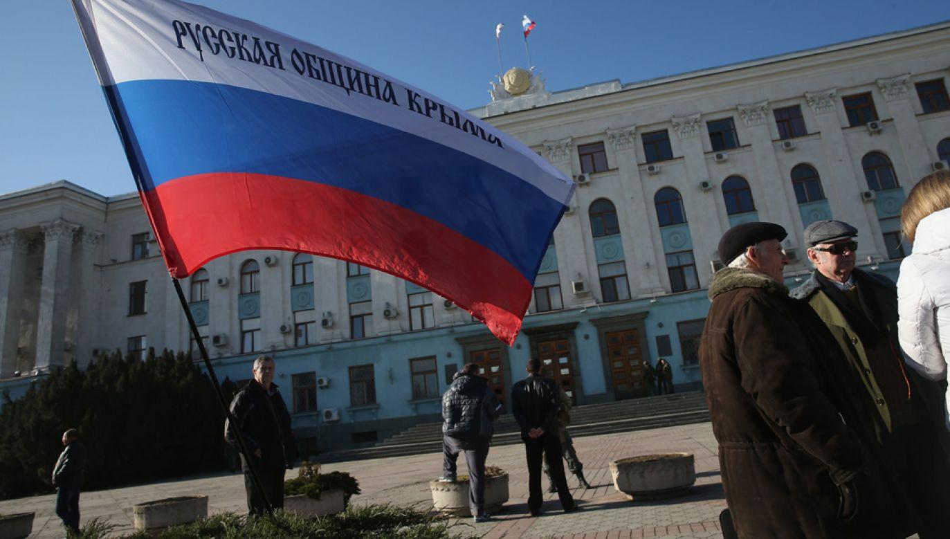 Szef BND wyraził wątpliwość, czy Rosja wycofa się z anektowanego Krymu  (fot. Sean Gallup/Getty Images)