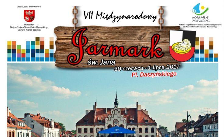 Jarmark w Piszu odbędzie się w piątek 30 czerwca i sobotę 1 lipca