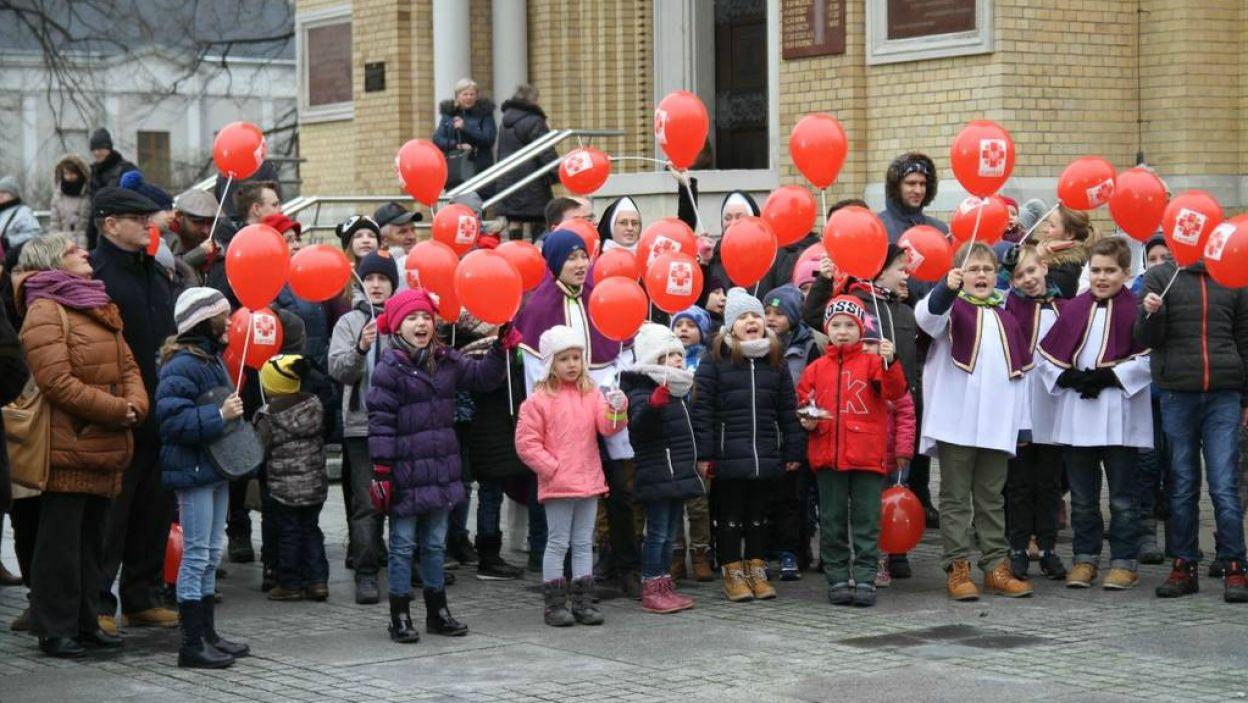 Caritas Archidiecezji Łódzkiej najlepszy do najprężniejszych organizacji charytatywnych w Polsce (fot. TVP)