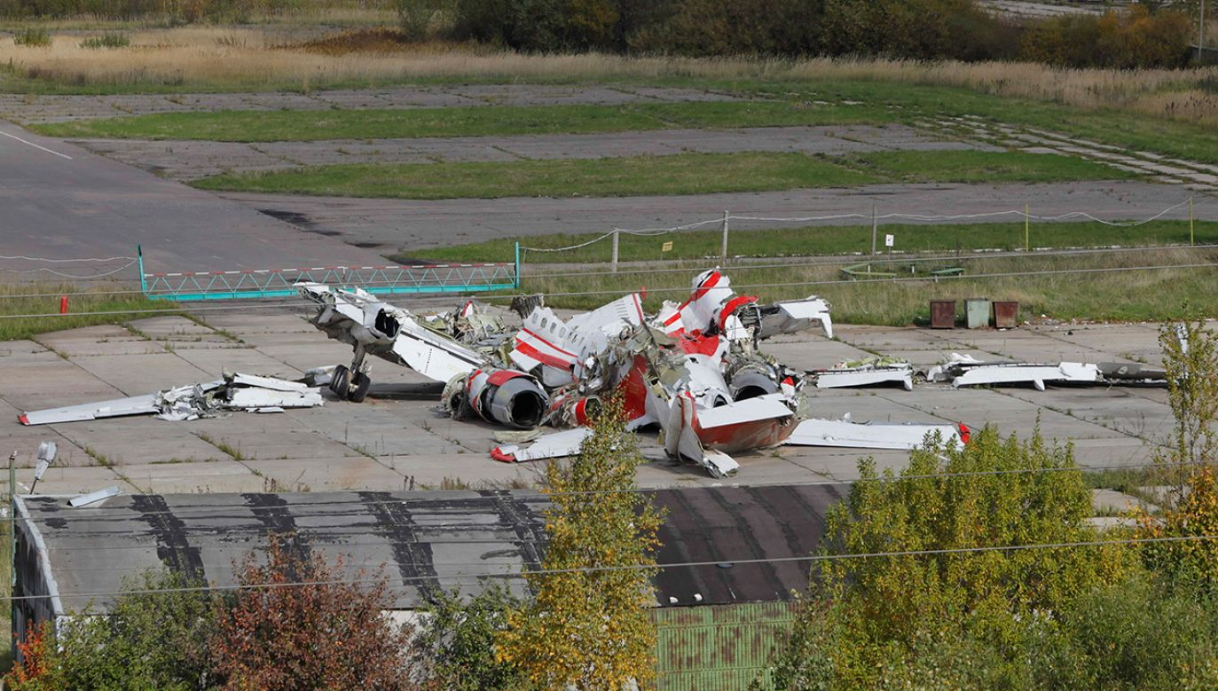 Polska uznaje, że przetrzymywanie wraku Tu-154M na terytorium Rosji jest pozbawione podstaw prawnych (fot. arch. PAP)