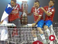 Copa America, finał: Chile – Argentyna (skrót)