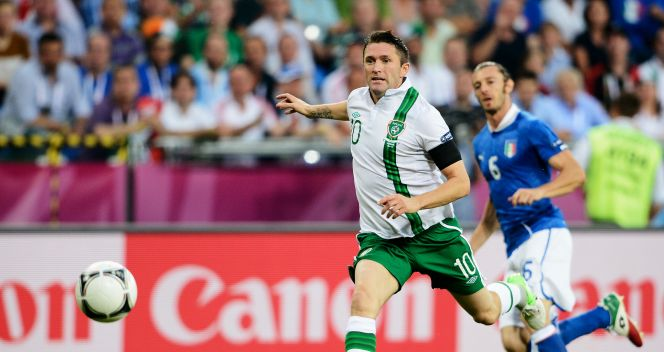 Kapitan Irlandii Robbie Keane (fot. Getty Images)