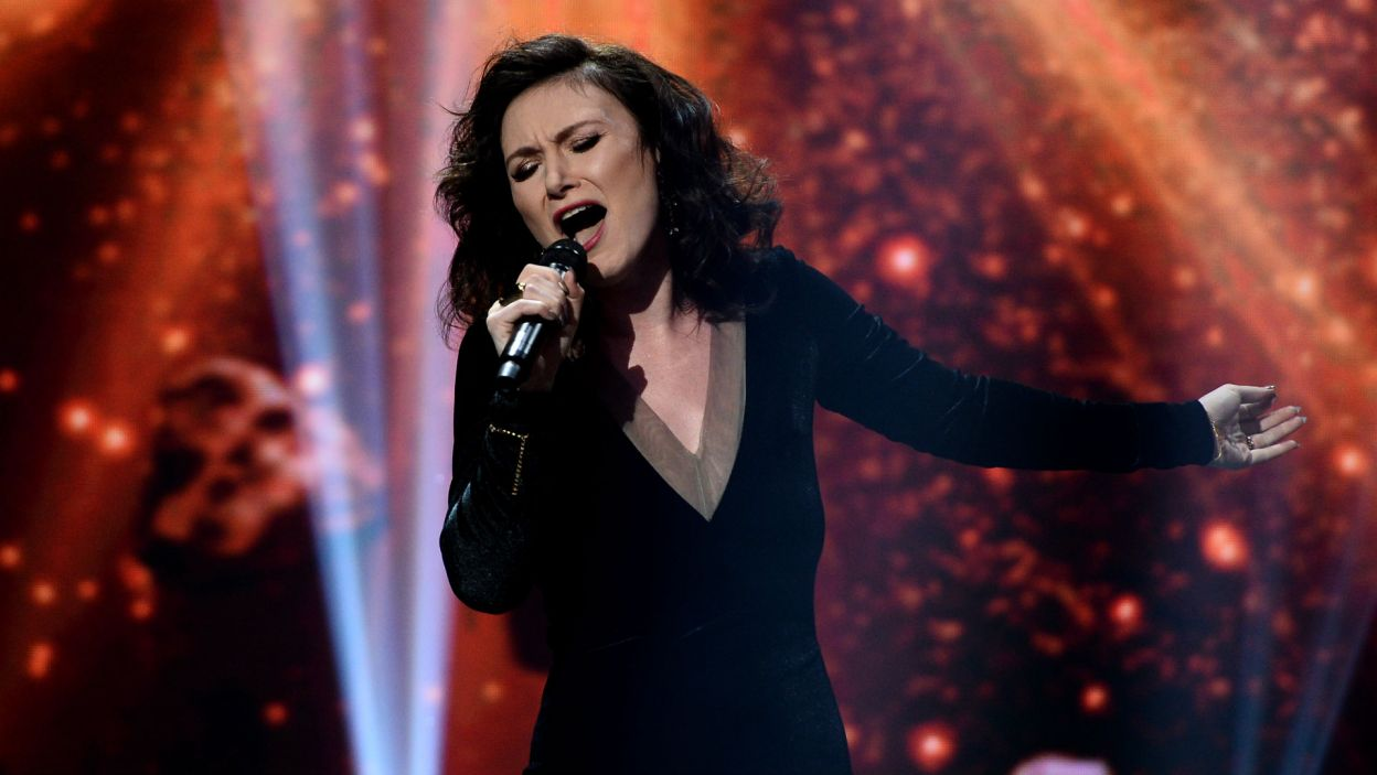 """Monika Urlik, znana z programu """"The Voice of Poland"""", miała realne szanse na ostateczne zwycięstwo (fot. TVP/Jan Bogacz)"""