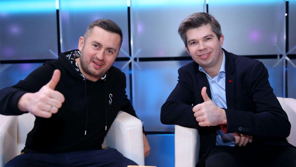"""... a także uczestnicy programu """"Rolnik szuka żony"""" (fot. Natasza Młudzik/TVP)"""