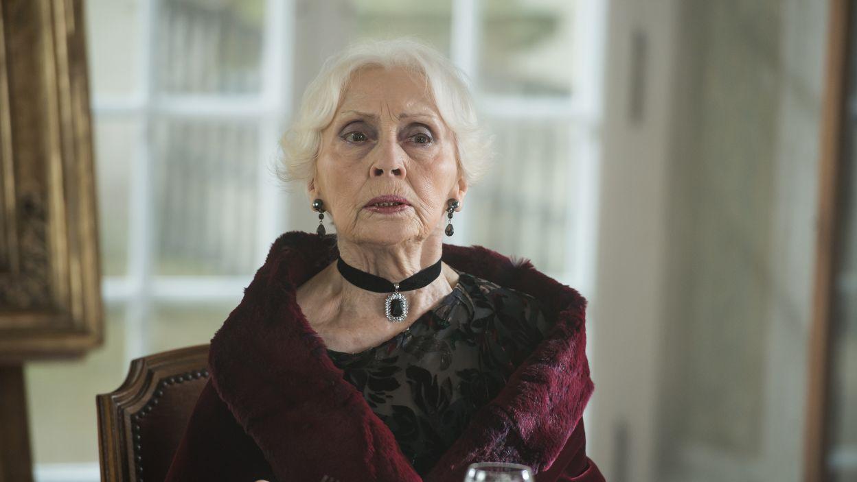 W rolę tytułowej hrabiny wcieliła się Anna Polony (fot. Jan Bogacz/TVP)