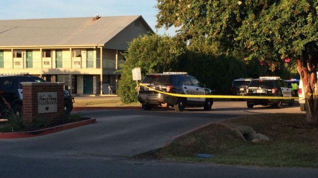 Przyczyny tragedii są niejasne; wiadomo, że sprawca nie żyje (fot. Twitter)