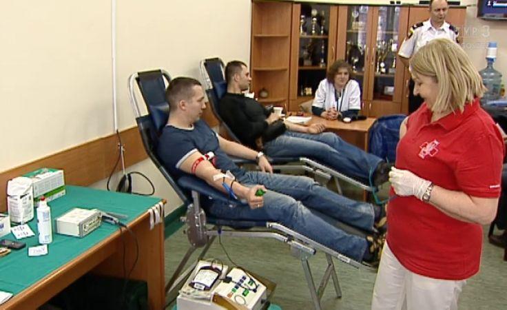 Bydgoscy municypalni oddali krew dla potrzebujących