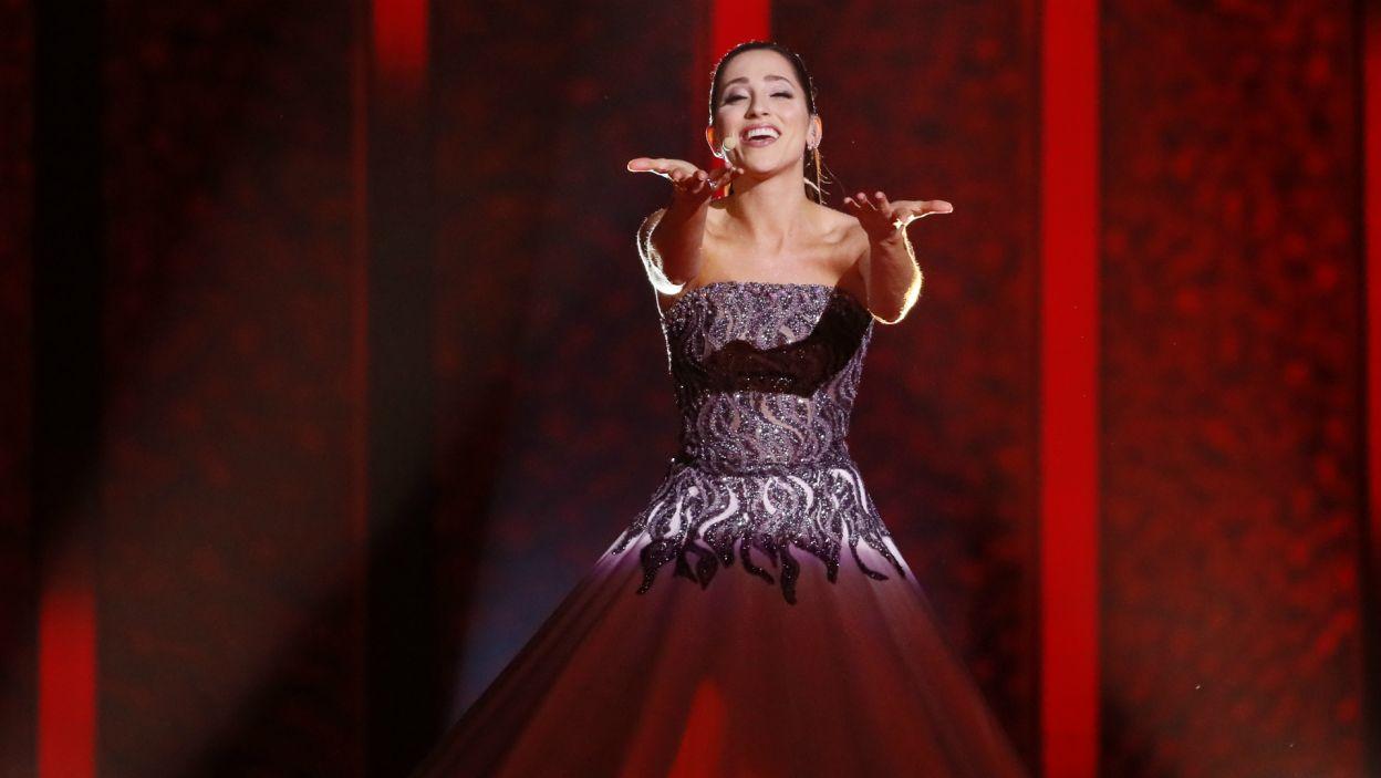 Dzięki Elinie Nechayevej, widzowie mogli poczuć się jak w operze, co najwyraźniej im się spodobało, bo reprezentantka Estonii zakwalifikowała się do finału (fot. A. Putting/EBU)