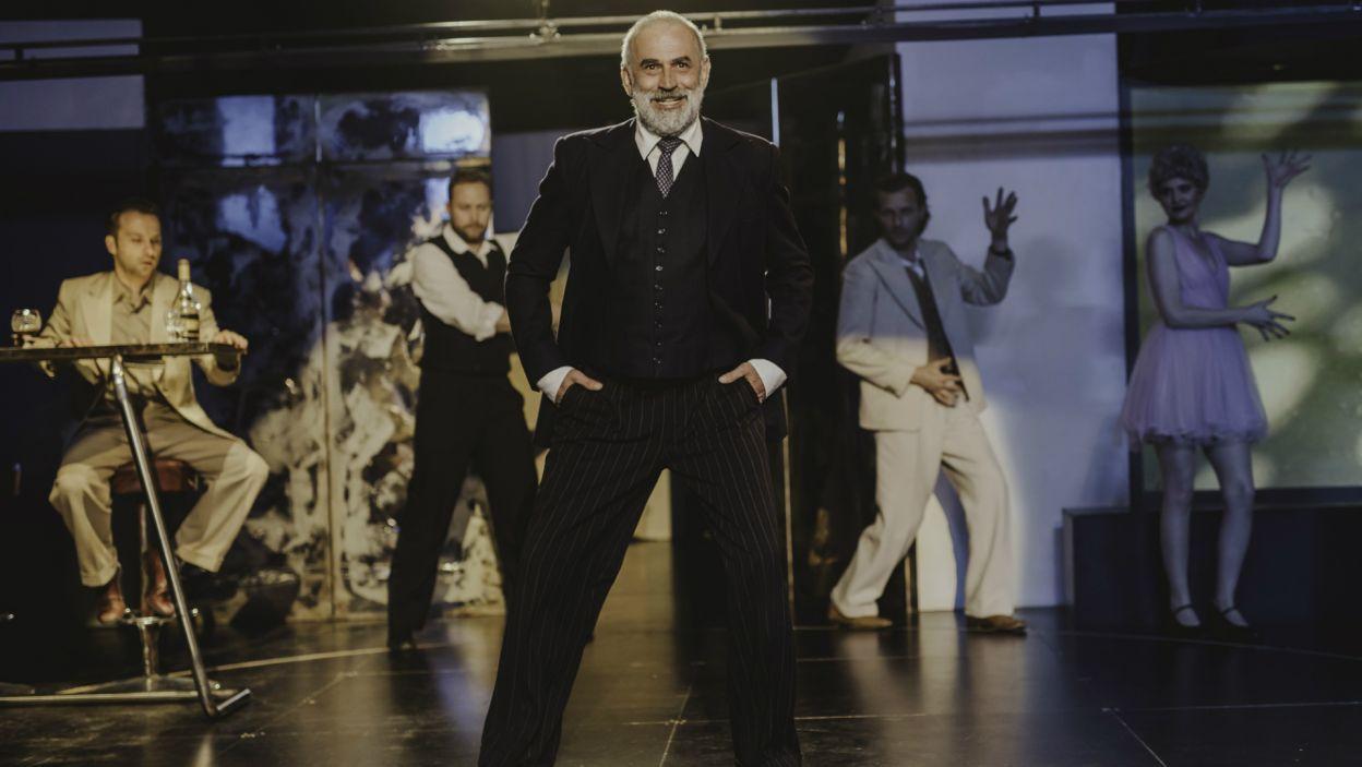 W postać ojca wcielił się Krzysztof Stelmaszyk (fot. S. Loba/TVP)