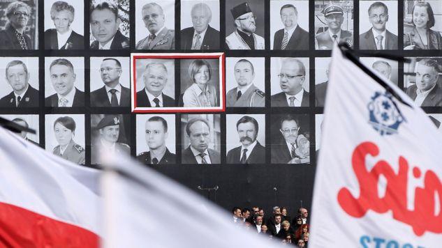 W katastrofie zginęło 96 osób, w tym prezydent RP Lech Kaczyński i jego małżonka (fot. Sean Gallup/Getty Images)