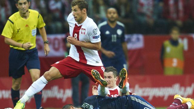 EL. ME: Polska gra dziś ze Szkocją. Bądź na bieżąco!