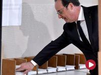Hollande: wymagana jest mobilizacja, zagłosuję na Emmanuela Macrona