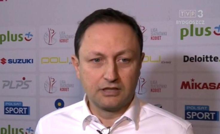 Nicola Vettori był trenerem torunianek przez 1,5 roku