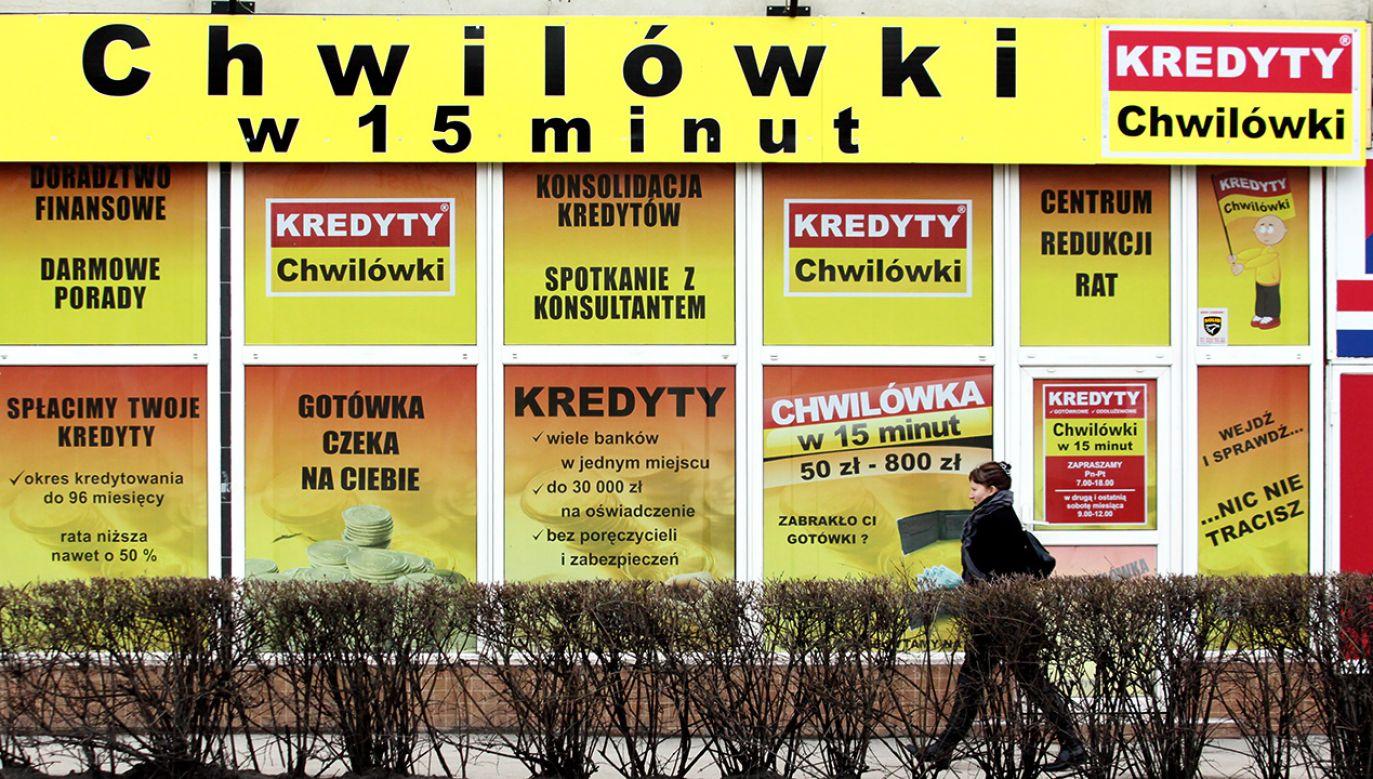 Projekt ws. upadłości konsumenckiej ma być zgloszony jeszcze w tym tygodniu (fot. arch. PAP/Lech Muszyński )