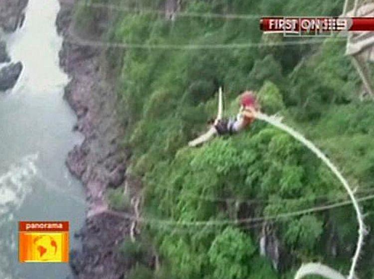 Pechowy skok na bungee tvp info